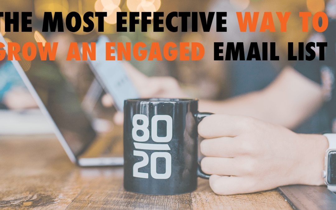 The Most Effective Way to Grow an Engaged Email List   EP 560