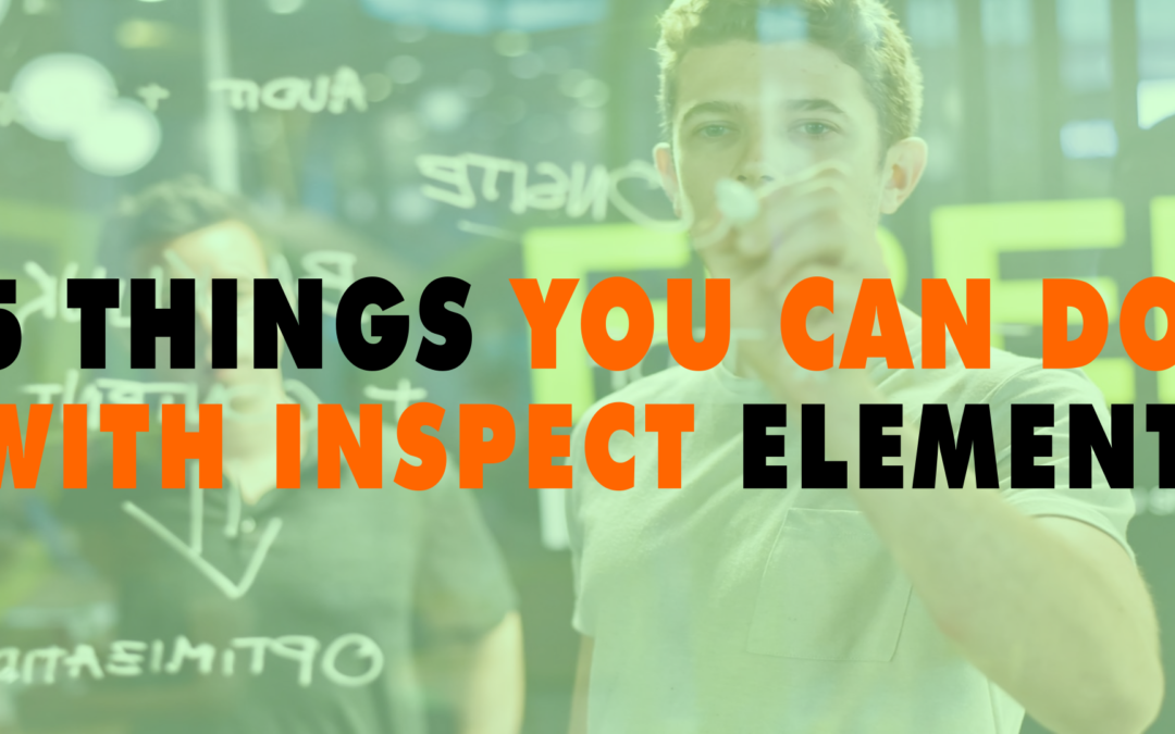 5 Things You Can do with Inspect Element   EP 625