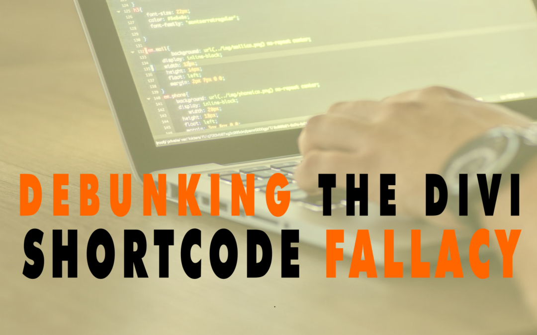 Debunking the Divi Shortcode Fallacy  | EP 632