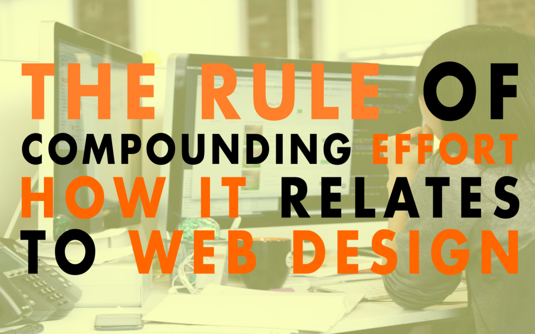 The Rule of Compounding Effort How it Relates to Web Design | EP 639